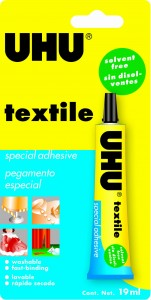 KLEJ UHU DO TEKSTYLIÓW TEXTILE DO TKANIN 19 ML