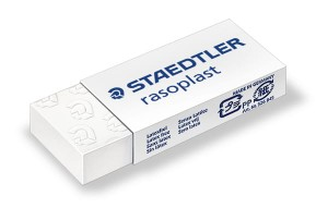 Gumka do mazania STAEDTLER RASOPLAST S526 MINI 43x19x9 mm