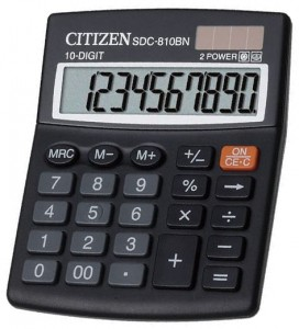 Kalkulator Citizen SDC-810BN